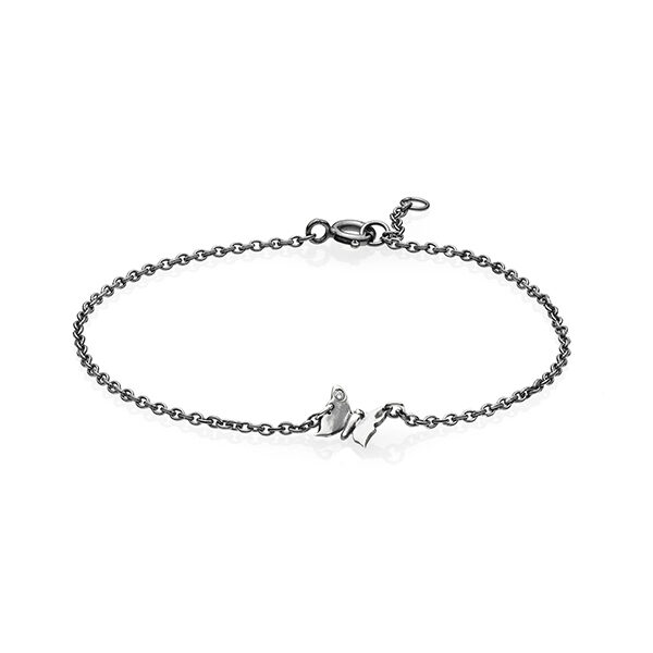 Butterfly armbånd i sølv