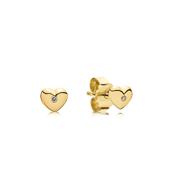 Heart øreringe