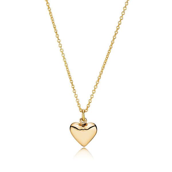 hjerte af eget guld